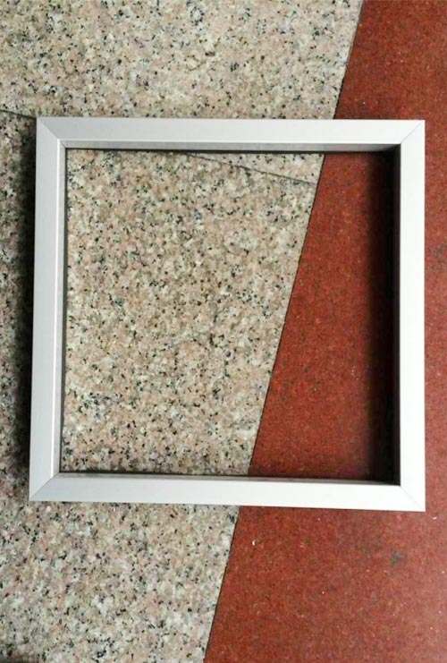 方形铝合金透视窗