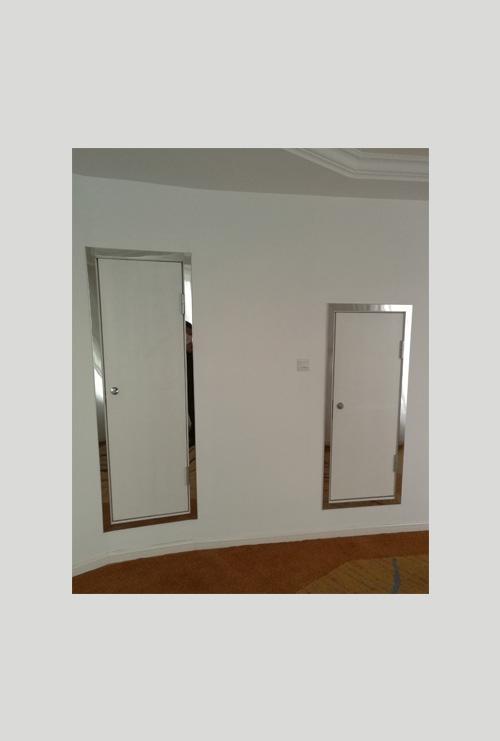 高层住宅空调检修门