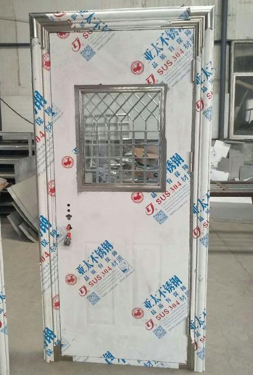 不锈钢拼接门